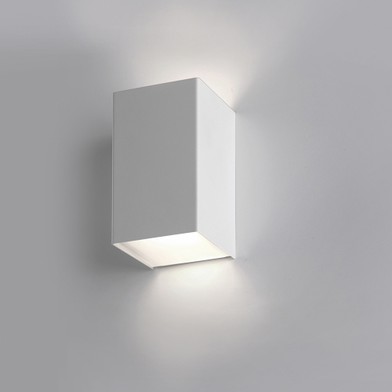 cubis kubische led wandleuchte 2 flammig. Black Bedroom Furniture Sets. Home Design Ideas