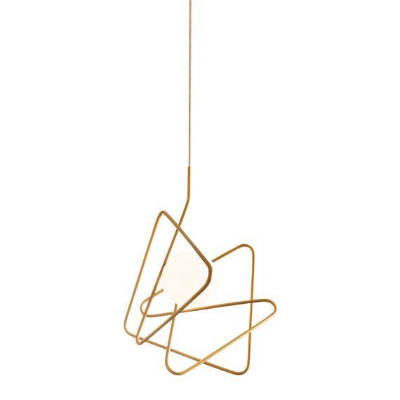 siom moderne leuchte aus gebogenem stahlrohr artylux online shop f r designleuchten aus europa. Black Bedroom Furniture Sets. Home Design Ideas