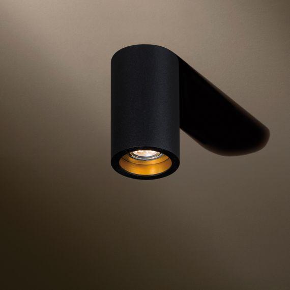 runder hochwertiger deckenspot. Black Bedroom Furniture Sets. Home Design Ideas
