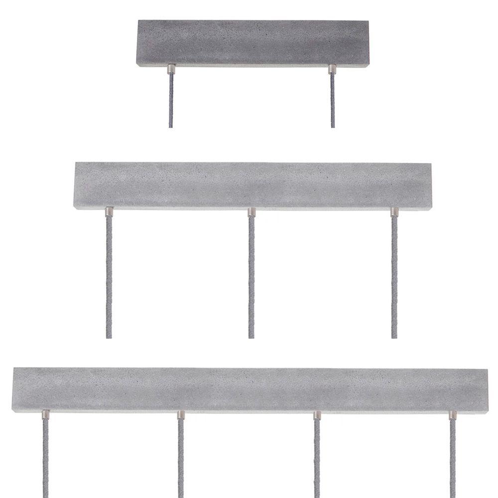 Deckenbaldachin rechteckig mit 2 4 ausl ssen for Exklusive lampen hersteller