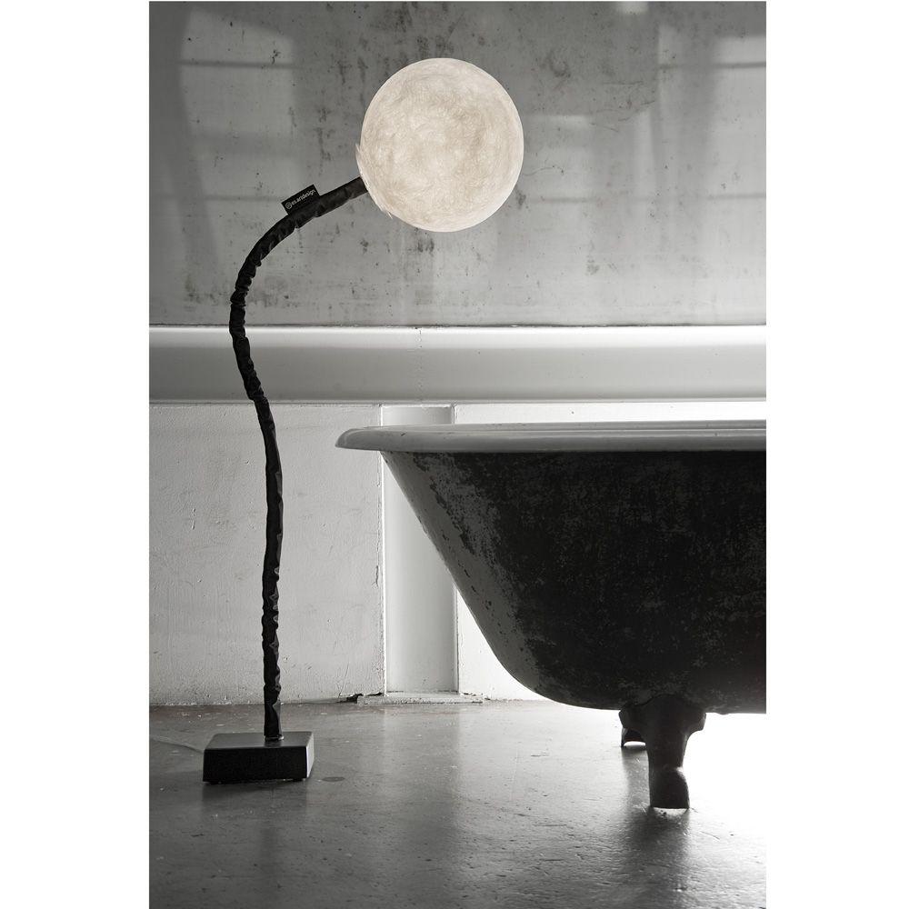 Micro Luna Piantana Design Stehleuchte Aus Italien
