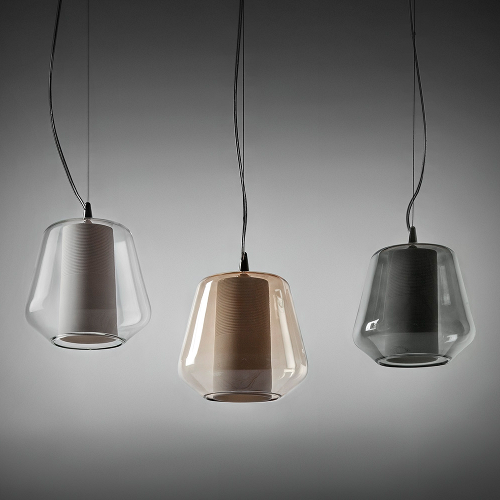 etica italienische glaskunst pendelleuchte. Black Bedroom Furniture Sets. Home Design Ideas