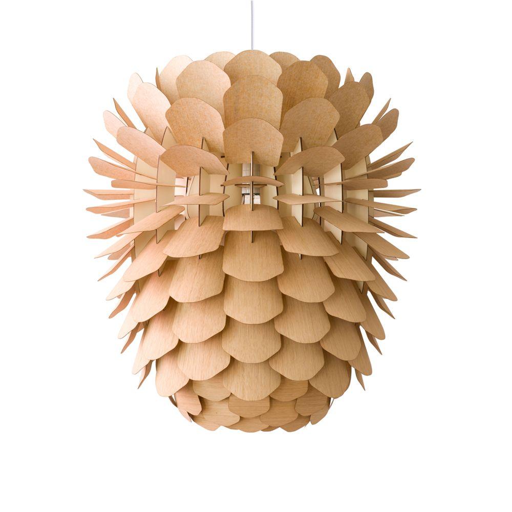 Pendelleuchten Aus Holz : Zappy zapfenf?rmige pendelleuchte aus holz artylux