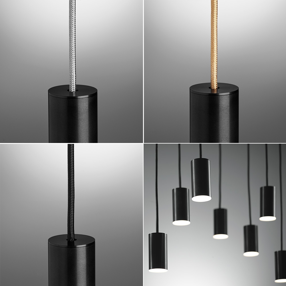 damocle lampenpendel mit 10 lampen. Black Bedroom Furniture Sets. Home Design Ideas