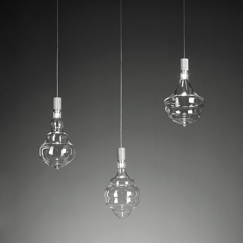 honey transparente 3 flammiges lampenpendel. Black Bedroom Furniture Sets. Home Design Ideas