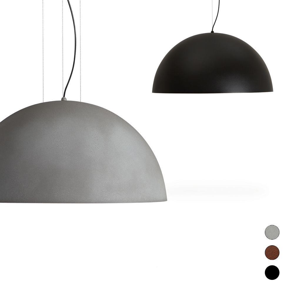 Halbkugel lampenschirm pendelleuchte for Exklusive pendelleuchten