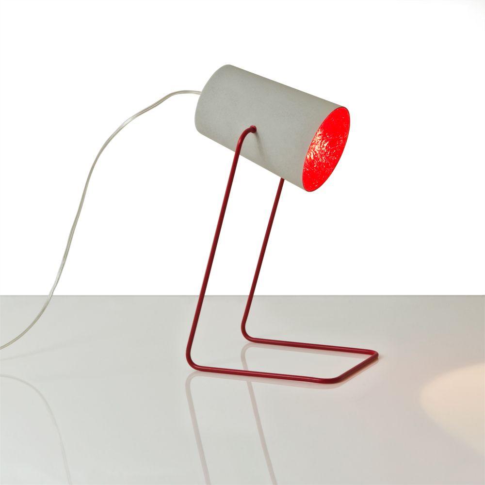 Paint t cemento design tischleuchte aus italien artylux for Wohndesign italien