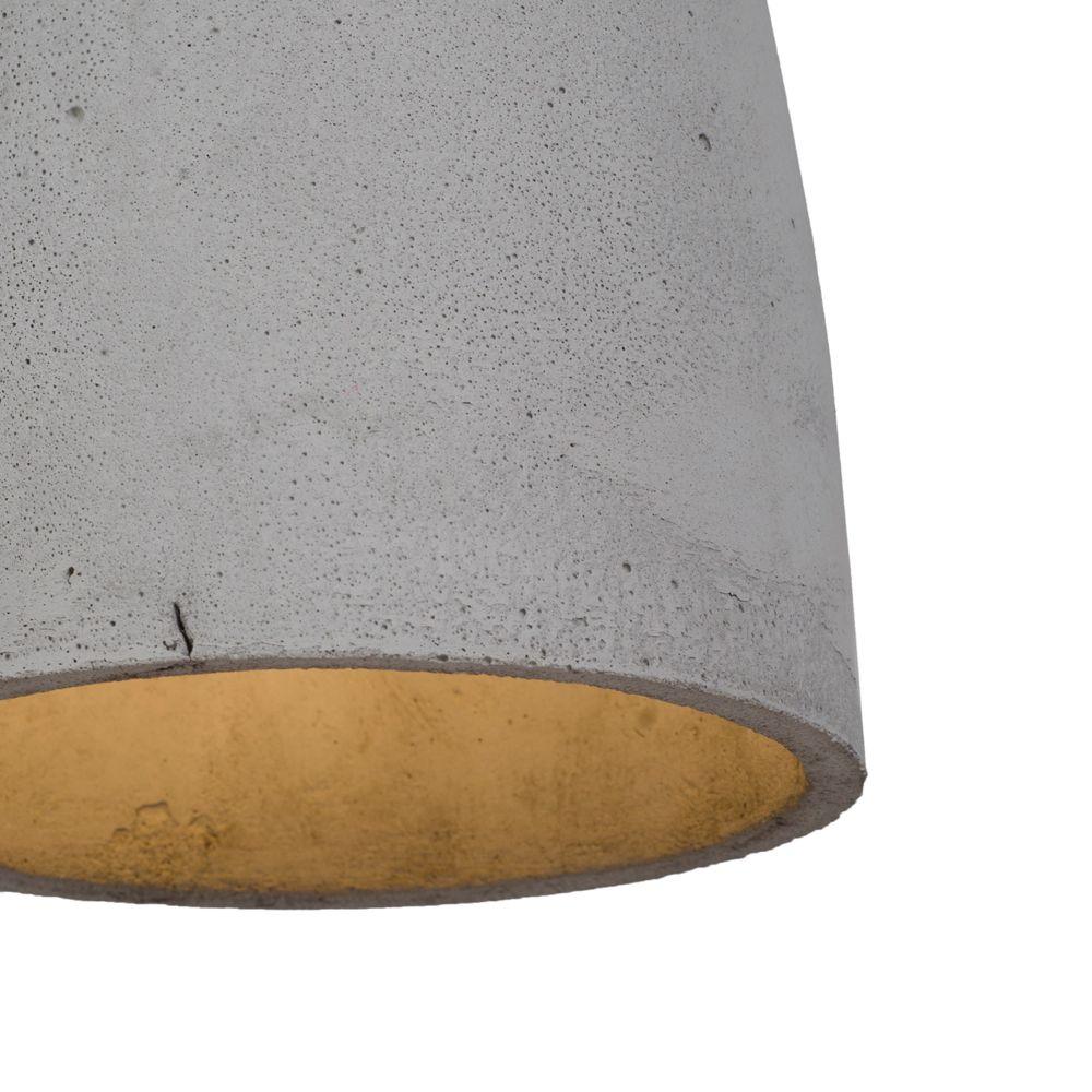 deckenspot aus beton in glockenform. Black Bedroom Furniture Sets. Home Design Ideas