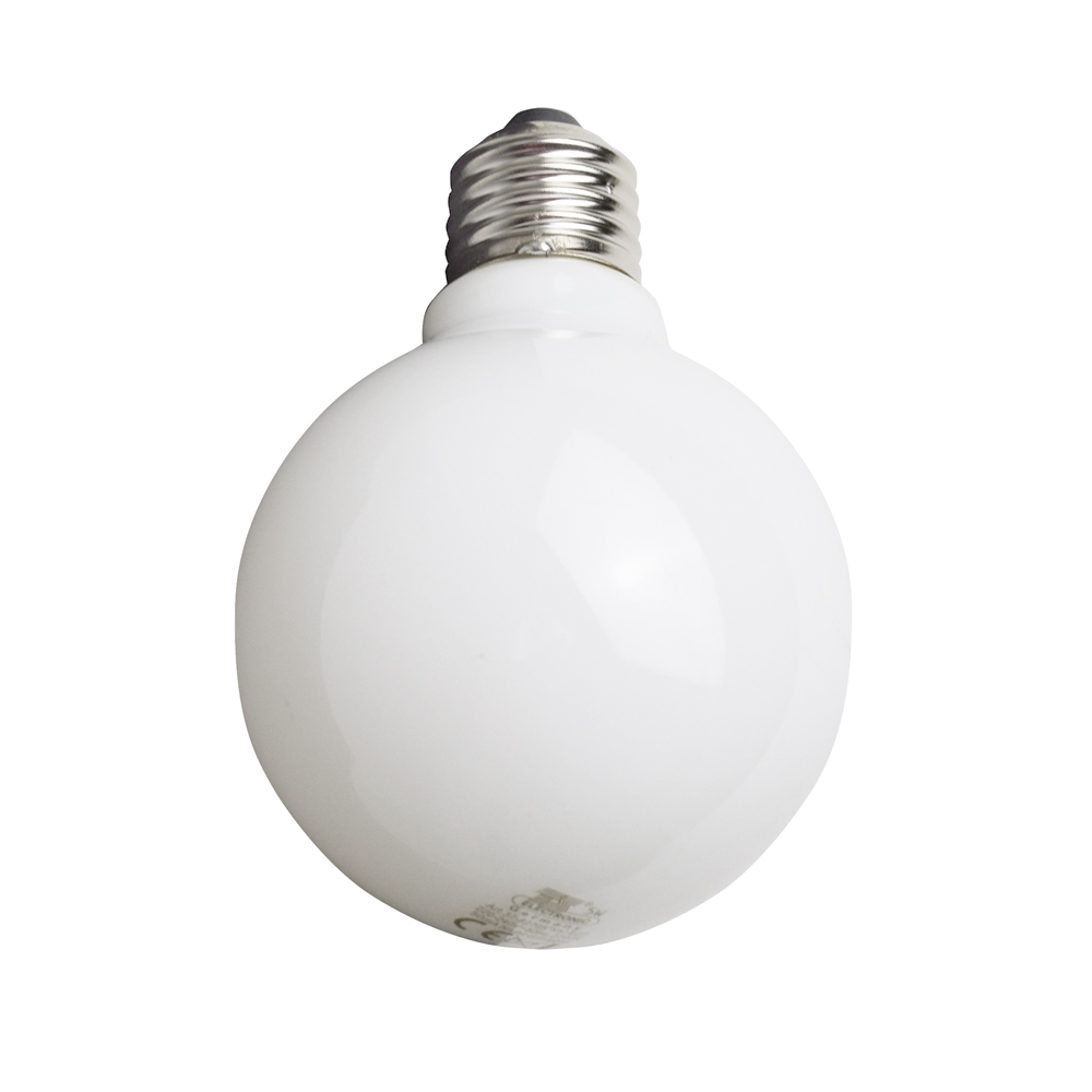LED Filament Leuchtmittel Globe opal - Ersatz für 50 Watt Glühbirne ...