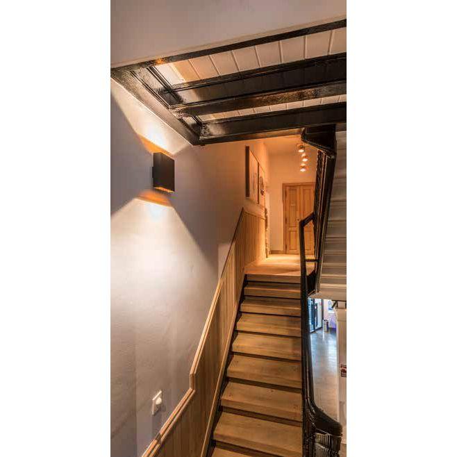 up and downlight led wandleuchte. Black Bedroom Furniture Sets. Home Design Ideas