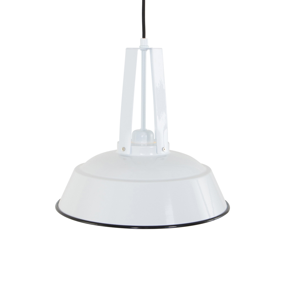 Jet white pendelleuchte im industriedesign for Lampen im industriedesign