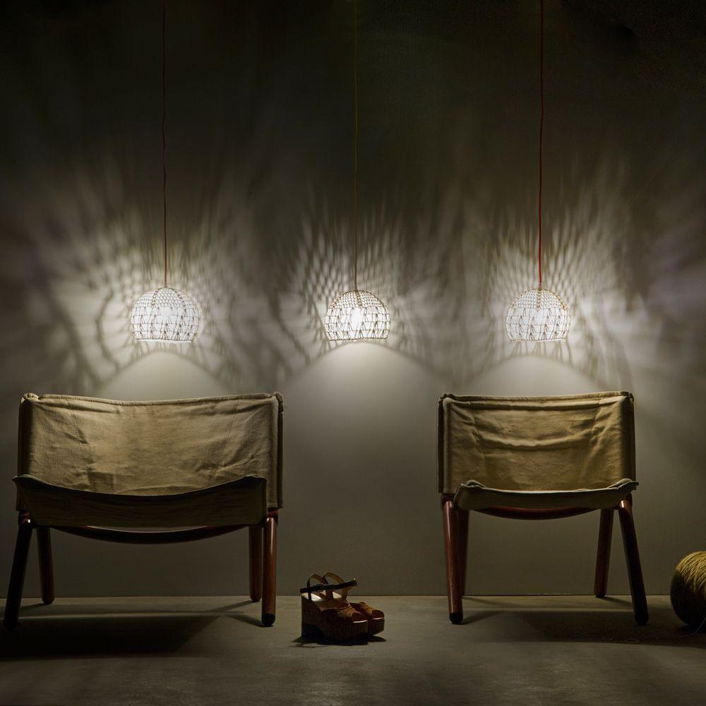 h ngeleuchte mit h ckel schirm. Black Bedroom Furniture Sets. Home Design Ideas