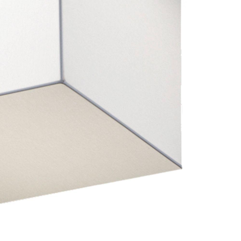 monobloque quaderf rmige led deckenleuchte stoff. Black Bedroom Furniture Sets. Home Design Ideas