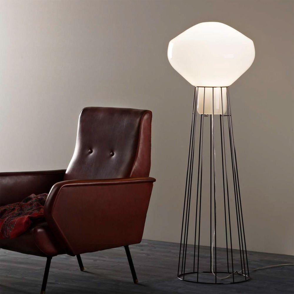 A rostat f27 italienische design stehleuchte for Italienische design lampen