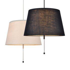 Skandinavische design leuchten for Pendelleuchte stoffschirm