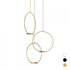 ODIGIOTTO Ring Pendelleuchte Led 3-flammig